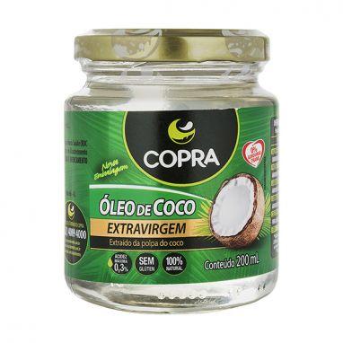 De R$30,25 Por R$15,00 - OLEO DE COCO EXTRAVIRGEM 200ML COPRA