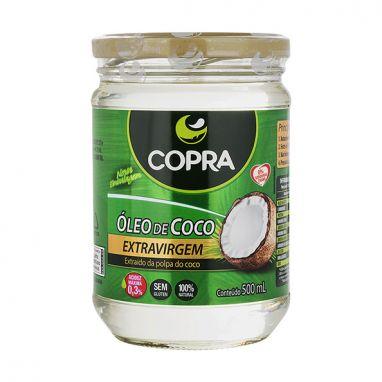 OLEO DE COCO EXTRAVIRGEM 500ML COPRA
