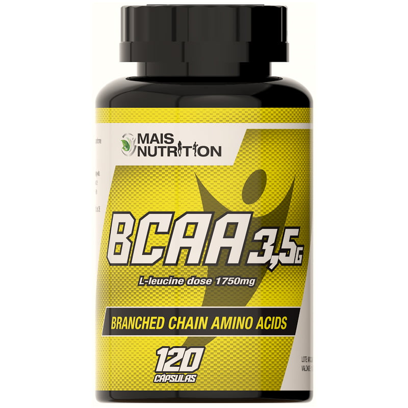BCAA 3,5 Softgel - 120 Capsulas