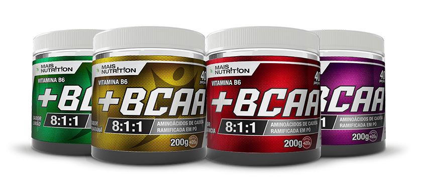 20 BCAA 200 gramas Mais Nutrition