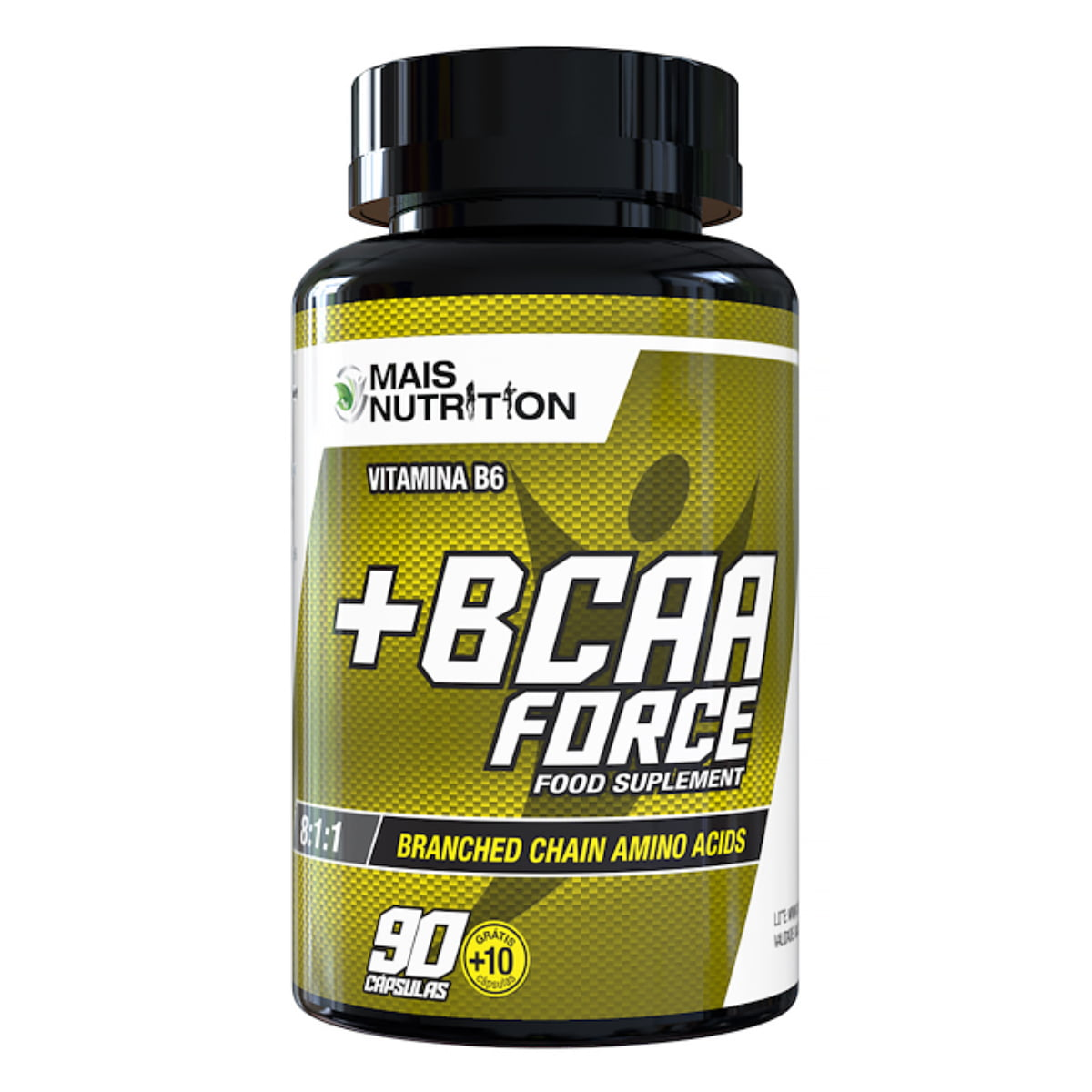 420 BCAA Force 100 capsulas Mais Nutrition