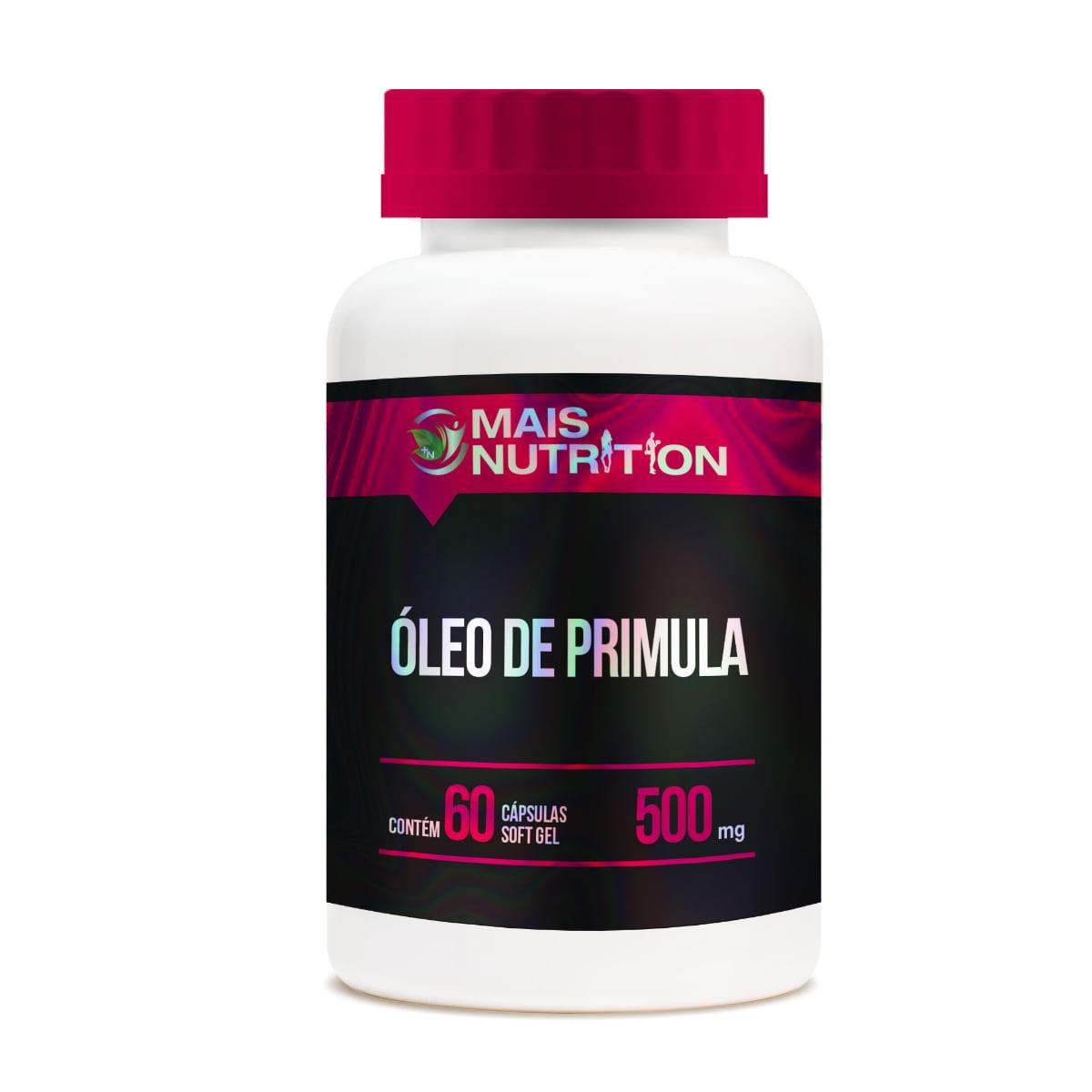 50 Oleo de Primula 60 capsulas Mais Nutrition