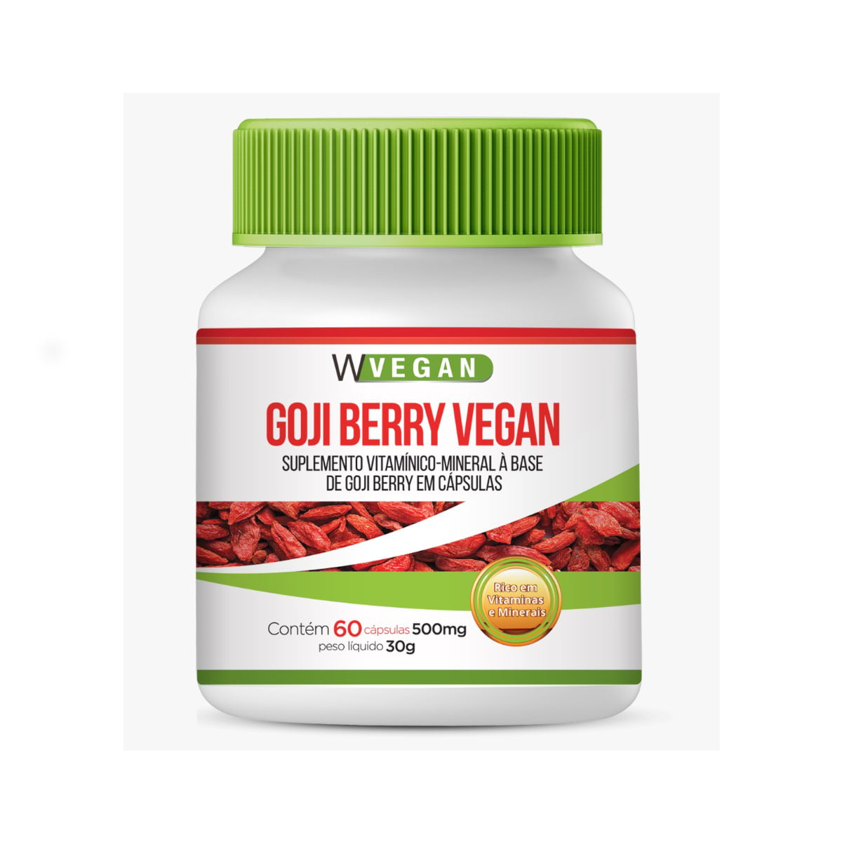Goji Berry 500mg - 60 Capsulas