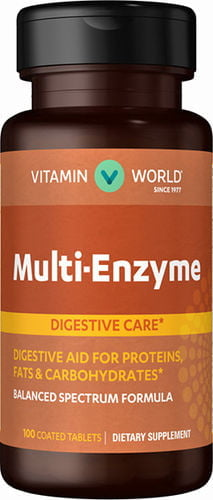 Multi Enzyme Enzimas 100 capsulas Vitamin World