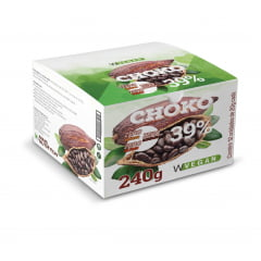 Choko Vegan - Chocolate 39% cacau 12 tabletes 20g cada WVegan