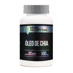 25 unid Oleo de Chia capsulas + 5 Calcio + Vit D3 capsulas Mais nutrition