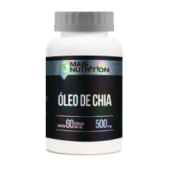50 unid Oleo de Chia capsulas + 10 unid calcio + Vitamina D3 Mais Nutrition