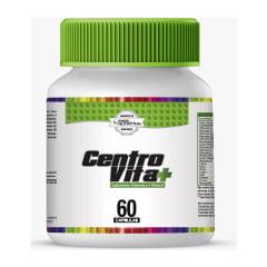 Glutamina 1kg + 3 Centro Vitta 60cp + 1 Omega 3 60cp + 1 Vitamina C + Zinco 60 tabletes