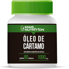 Oleo de Cartamo 1000mg 60 Capsulas Mais Nutrition