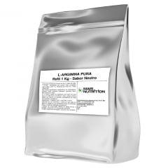 Arginina 1Kg 1 Kilo Quilo Pura L-Arginina Refil Mais Nutrition