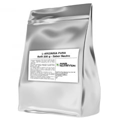 Arginina 200g Pura L-Arginina Refil Mais Nutrition