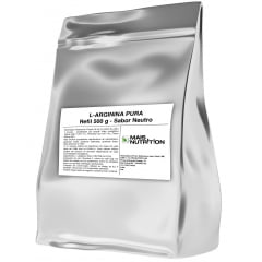 Arginina 500g Pura L-Arginina Refil - Mais Nutrition