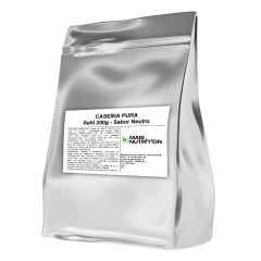 Caseina 200g 200 gramas Puro Refil - Mais Nutrition