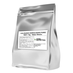Colageno Hidrolisado 1Kg 1 Kilo Quilo Refil - Mais Nutrition