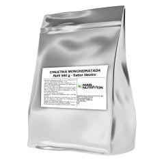 Creatina Monohidratada 500g 500 gramas Refil - Mais Nutrition