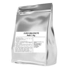 Cúrcuma 1Kg 1 Kilo Mais Nutrition - Embalagem Refil Metalizada