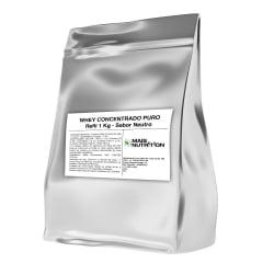 Whey Protein Concentrado 1Kg 1 Kilo Quilo - Mais Nutrition