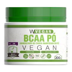 Bcaa Pó Vegan 200g  - Sabor Uva WVegan