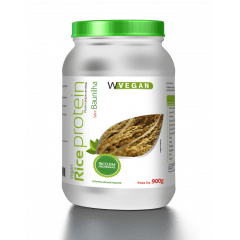 Rice Protein 900g Proteina de Arroz Sabores Baunilha , Chocolate e Neutra
