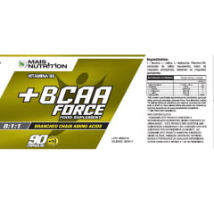BCAA Force 100 cápsulas
