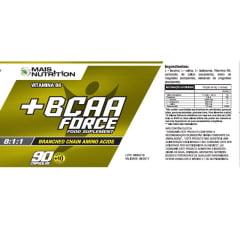 BCAA Force 100 cápsulas