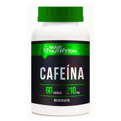 Cafeina 210mg 60 capsulas Mais Nutrition