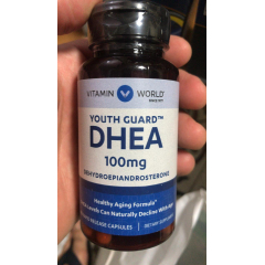 DHEA 100mg 60 capsulas Vitamin World