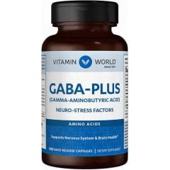 Gaba Plus 100 capsulas de rápida liberação Vitamin World