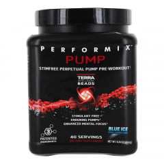 Performix Pump 40 capsulas Blue Ice