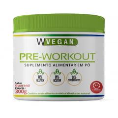 Pre Workout Pre Treino 300g WVegan – Sabor Guaraná