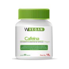 Cafeina 200mg 60 capsulas WVegan