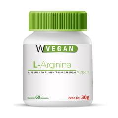 L Arginina 500mg 60 cápsulas WVegan