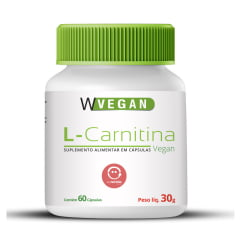 L Carnitina 500mg 60 capsulas WVegan