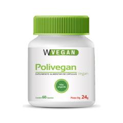 Polivitamínico Polivegan 60 Capsulas A a Z WVegan