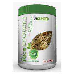 Rice Protein 330g 330 gramas Frutas Vermelhas WVegan