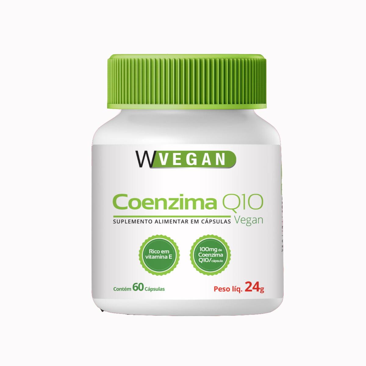 Coenzima Q10 500mg 60 capsulas WVegan