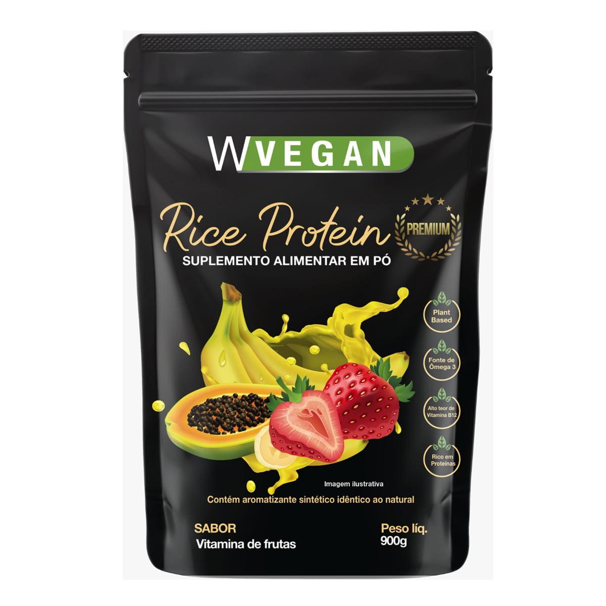 Rice Protein Premium 900g com DHA